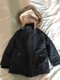 Boys coat age 2-3 (marks & spencers)
