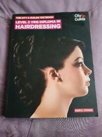 Hairdressing diploma book