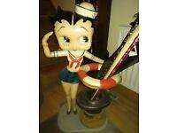 Betty boop rare 3ft sailor