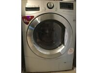 8 Kg LG Washer-Dryer, highest rating, sparingly used, very quiet, 4 years LG warranty