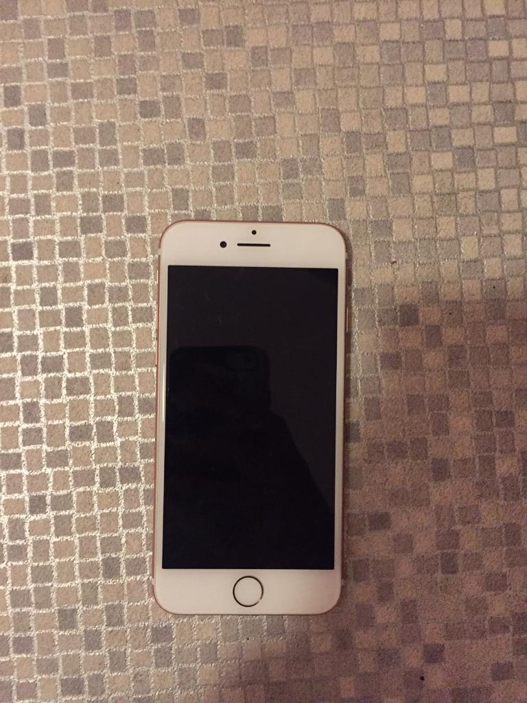Apple iphone 7 rose gold 128gb, vodafone