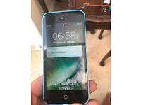 Unlocked 32gb iPhone 5c blue mint condition