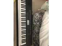 Casio LK-160 Keyboard, Stand and 2 songbooks