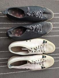 Men Paul Smith shoes, size 8, both pairs £5
