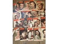 75 picturegoer magazines 1951 job lot