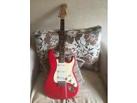 2001 Squire Strat 20 Anniversary Bullet