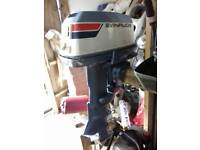 40 hp evinrude outboard engine