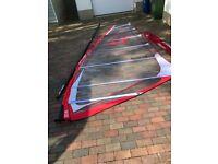 490cm Performance mast and 8.5m Arrow windsurf sail