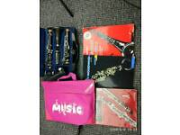Clarinet buffet b 12 with accessories