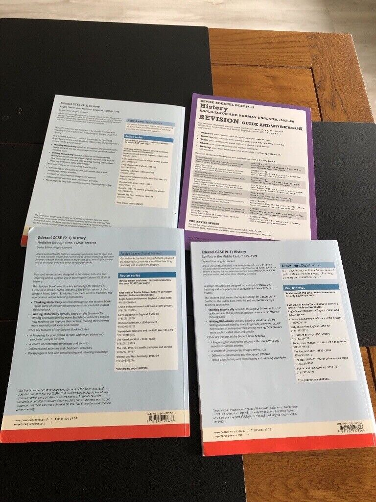 4 History revision guides by Edexcel GCSE 9-1 | in Woking, Surrey | Gumtree