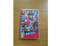 Super Mario Odyssey game (Nintendo Switch) LIKE NEW