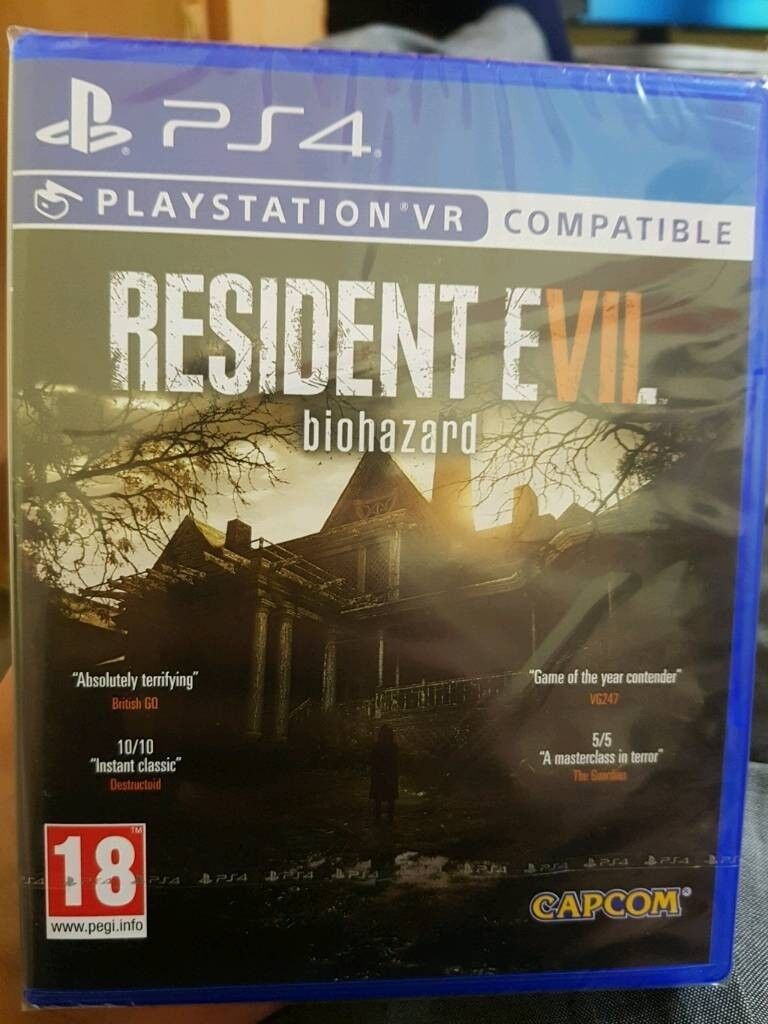 Resident Evil 7 Playstation 4 Ps4 Sealed In Woodford London Gumtree Biohazard