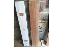 Two packs laminate flooring for sale