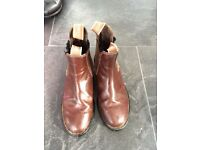 Brown size 4 leather Jodphur boots