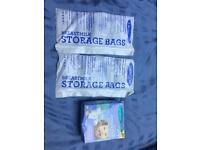 Free breastmilk storage bags