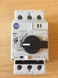 Allen Bradley 140M-C2E-B16 3P Motor Protection Circuit Breaker 1.0-1.6A 415V