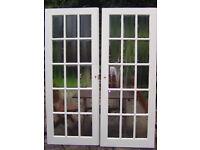 PAIR OF INTERNAL REBATED DOORS