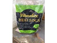 AWAITING COLLECTION - a bag of Homefire heat logs