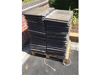Marley roof tiles approx 130 Used but in good condition