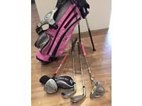 """Kids US Golf 4 Club Stand Set (45"""") For Sale"""