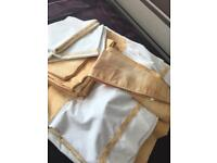 Curtains & Matching Single Bed Linen Set - £10