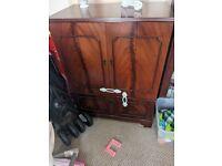 TV Cabinet Dark Wood