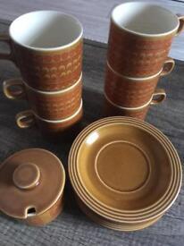 Hornsea tea set.