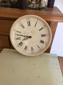 Laura Ashley clocks x 2