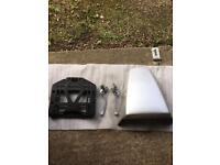 Honda vfr 800 vtec seat cowl levers top box