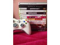 Xbox 360 Slim 250GB With 15 Games