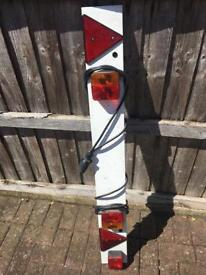 4ft trailer light board with cable
