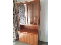 Glass fronted dresser