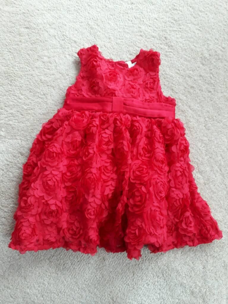 6-9 months girls Christmas dress