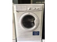 INDESIT free standing washing machine 6 kg A class nice condition & fully working order