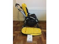 Bugaboo bee 3 with cocoon and car seat and adaptors
