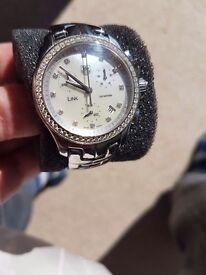 Ladies Tag Heuer Link Diamond watch with box