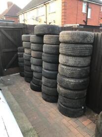 Part worn tyre 14,15,16,17 £10 each