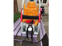Kids bike seat nearly new only £60