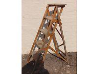 5 Step Wooden Step Ladder