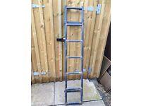 Rino ladder for roof rack
