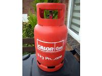 Calor 6kg Propane Gas Bottle Part-Full (Swindon)