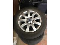 "Volkswagen Golf mk5 15"" alloy wheels"