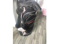 Golf bag deep red