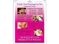 Traiditional Thai massage , Aromatherapy