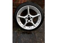 108 BBS genuine alloy from BMW Z4 E85
