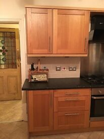 Wooden Kitchen for sale.