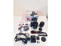CANON 1200D DSLR Camera With 50mm & 18-55mm Lenses & Lighting Kit, Backdrops & Tripod