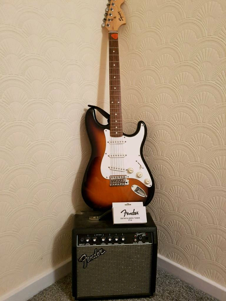 Electric Guitar Amp And Electronic Note Tuner In Hessle East