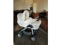 Silvercross pram/stroller/travel system and extras