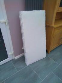 Cot mattress 120cmx60cm